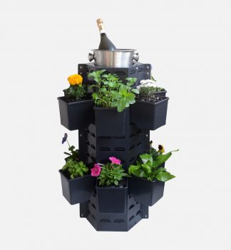 The Downpipe Vertical Garden Table/Wine Stand Kit